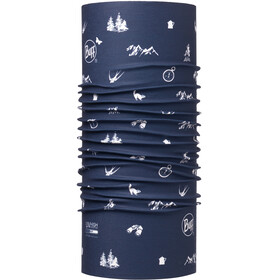 Buff High UV Neckwear blue/white
